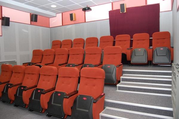 Малый зал кинотеатра Юность